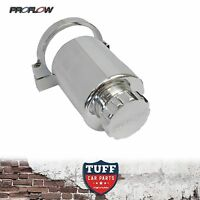 Proflow Polished Billet Remote Reservoir Brake or Clutch Master Cylinder Tank