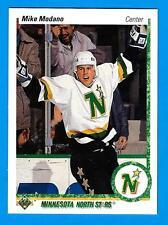 1990-91 Upper Deck MIKE MODANO (ex-mt)  North Stars Rookie