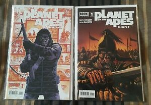 Planet of the Apes #1 Annual and Giant #1  Boom!