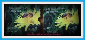 Coffret IRLANDE 2021 BU Série Euro  L'abeille domestique irlandaise NOUVEAU!!!!!