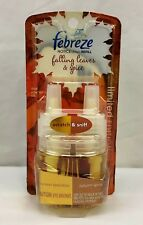RARE Febreze NOTICEables FALLING LEAVES & SPICE Scented Oil Refills (1 Pack) NEW