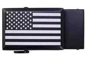Nexbelt Buckle USA Beveled Classic Black  - New 2021