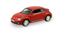 "RMZ 2012 Volkswagen VW New Beetle 1:36 scale 5"" diecast model car Matte Red R26"