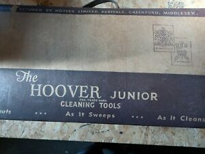 Vintage Hoover junior cleaning tools in box.great condition