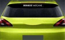 Rear Window Sticker Fits Renault Megane Premium Qaulity Decals Graphics RL81