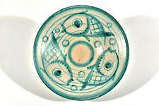 KARLSRUHER MAJOLIKA Keramik Schale ° handbem. Unikat ° Design Ludwig König 1923