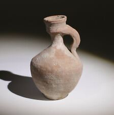 SUPER ROMAN TERRACOTTA JUG - 1st/3rd Century AD   (098)