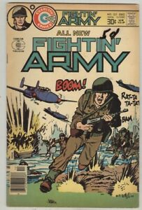 Fightin' Army #127 December 1976 VG Stretch Armstrong back cover