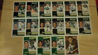 1991-92 Pinnacle French HARTFORD WHALERS Team Set - 16 Hockey Cards