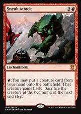 Eternal Masters Sneak Attack - Foil x1 Light Play, English Magic Mtg M:tG