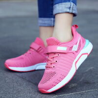 Girls Kids Athletic Tennis Shoes Walking Sneakers Breathable Casual Sport Shoes
