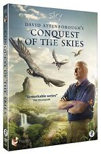 DAVID ATTENBOROUGH'S CONQUEST OF THE SKIES (2015) - BRAND NEW 2 DVD Set UK