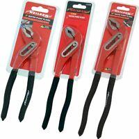 """Neilsen Plumbers Adjustable Soft Grip Waterpump Pipe Wrench Pliers 7"""" - 12"""""""