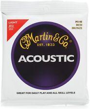 MARTIN ACOUSTIC LIGHT 12 M140 80/20 BRONZE .012 ~ .054 ACOUSTIC GUITAR STRINGS