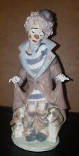Lladro Figurine Magic Clown And Puppy Surprise 5901 Retired With Original Box