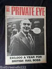 PRIVATE EYE # 432 - BRITISH RAIL BOSS - JULY 7 1978