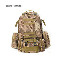 Molle Military Army Bag Tactical Rucksack Backpack Camping Hiking Outdoor 7240U