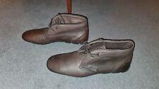 Prada leather Chukka boots UK 9 EU 43 Brown