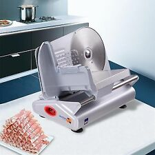 100W Electric Meat Stainless Steel Blade Slicer Cheese Food Cutter