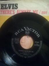 ELVIS  PRESLEY    single Judy   47-9287 v4 german