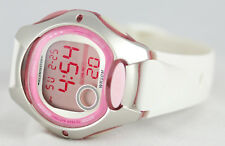 Casio LW200-7AV Ladies White Pink Digital Watch LED Light Sports with Brand New
