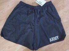 Army USA mens swim trunks shorts Black size XL PHYSICAL FITNESS UNIFORM PFU ☆NEW