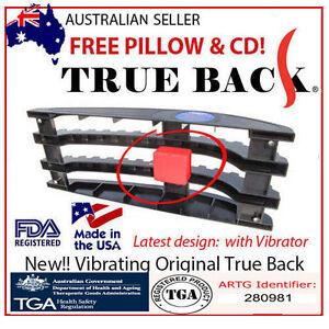 True Back Australia Vibrating TrueBack Pain Relief Traction Device True Back OZ