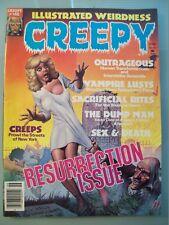 Creepy 146 Comic Book Magazine Final Issue Rare Corben Frazetta Vtg 1985 Horror