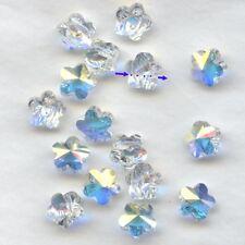 5744 8 CI *** 6 perles-fleur de Swarovski réf. 5744 8mm CRYSTAL AB