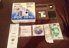VINTAGE POLAROID CAMERA PDC 2070 - New Fujifilm Card - Receipt - Case - Box