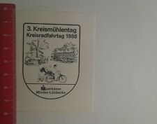 Aufkleber/Sticker: Sparkasse Minden Lübbecke 3 Kreismühlentag 1988 (071216150)