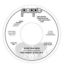 "WESLEY, Fred & THE JB'S - Blow Your Head - Vinyl (7"")"