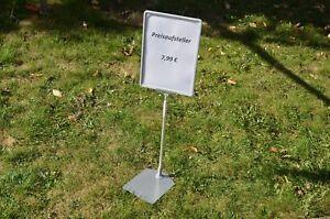 Profi Preisschild - Teleskop Preisaufsteller - Werbeaufsteller DIN A4 -TOP +++++