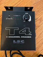 LSC Professional T4 4 Channel Chaser Lighting Controller