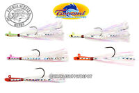 Tsunami Glass Minnow Teasers Fluke Sea Bass Flounder Snapper 3/8oz - Pick