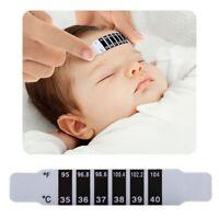 Accueil bébé incassable bande tête de thermomètre de bébé pour le voyage defront
