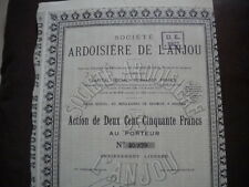 49 - ANGERS - ARDOISIERE de L ANJOU