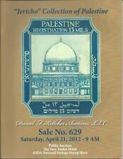 KELLEHER Palestine Postage Stamps Jericho Collection Auction Catalog 2012
