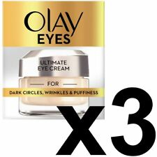3 Olay Eyes Collection Ultimate Eye Cream Dark Circles Wrinkles & Puffiness 15ml