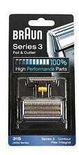 Braun 31s (silver) Series 3 Foil & Cutter