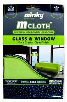 Mrs Hinch Minky M Cloth Glass And Window Microfibre Cleaning Cloth with FreePost