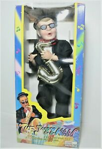 The Jazzman Battery Operated Dancing Musical Doll Original Box Tested and Works