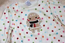 NWT Girls 18-24M GYMBOREE Christmas Gingerbread Winter Cheer Top Shirt