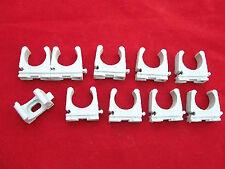 10x Fischer Rohrclip 20- 21mm  Rohrschelle Kunststoff für Ölleitung 20- 21mm