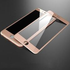 3d Curved Full Tempered Glass LCD Screen Protector gold for iPhone 8 plus 7+