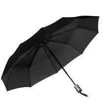 JEOutdoors Travel Umbrella Compact 10 Ribs Windproof Folding Auto Open/Close