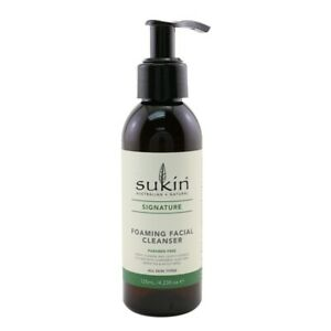 NEW Sukin Signature Foaming Facial Cleanser (All Skin Types) 125ml Womens Skin
