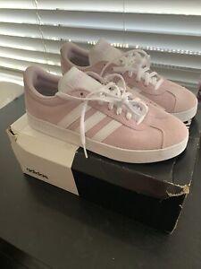 pink adidas VL court  2.0 size 7 womens