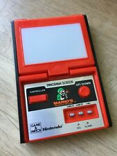 Mario's Bombs Away Nintendo Game & Watch - with instruction booklet
