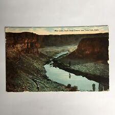 Blue Lakes Snake River Canyon Twin Falls Idaho Posted Postcard